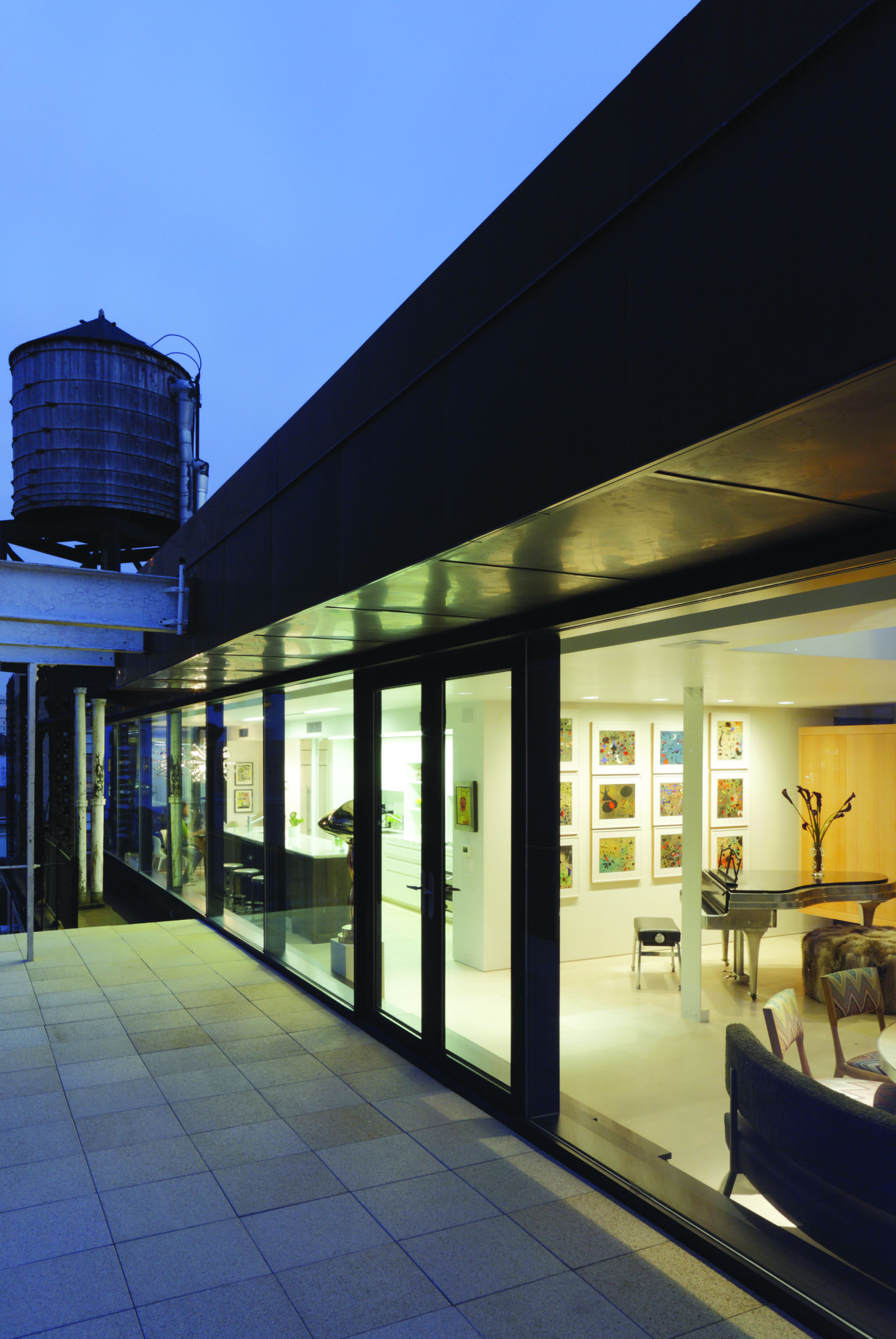 Glass Penthouse