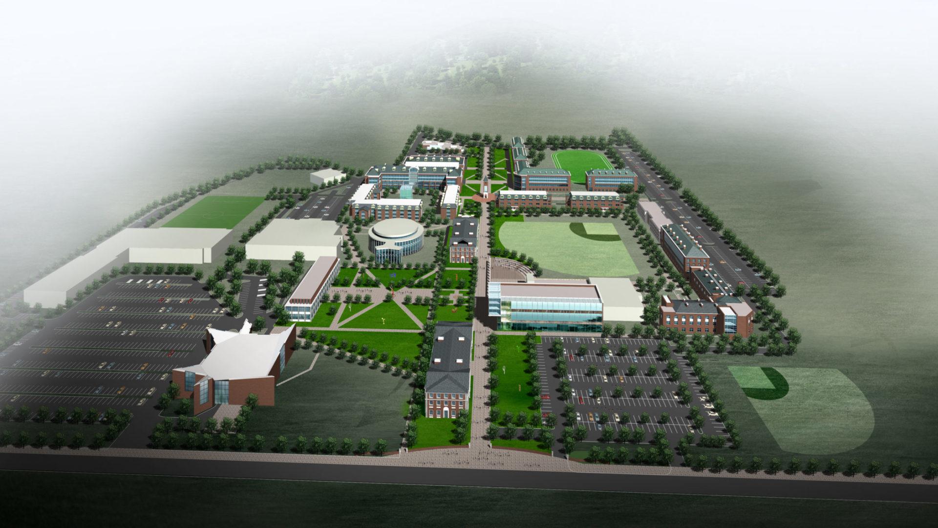 Adelphi University Master Plan