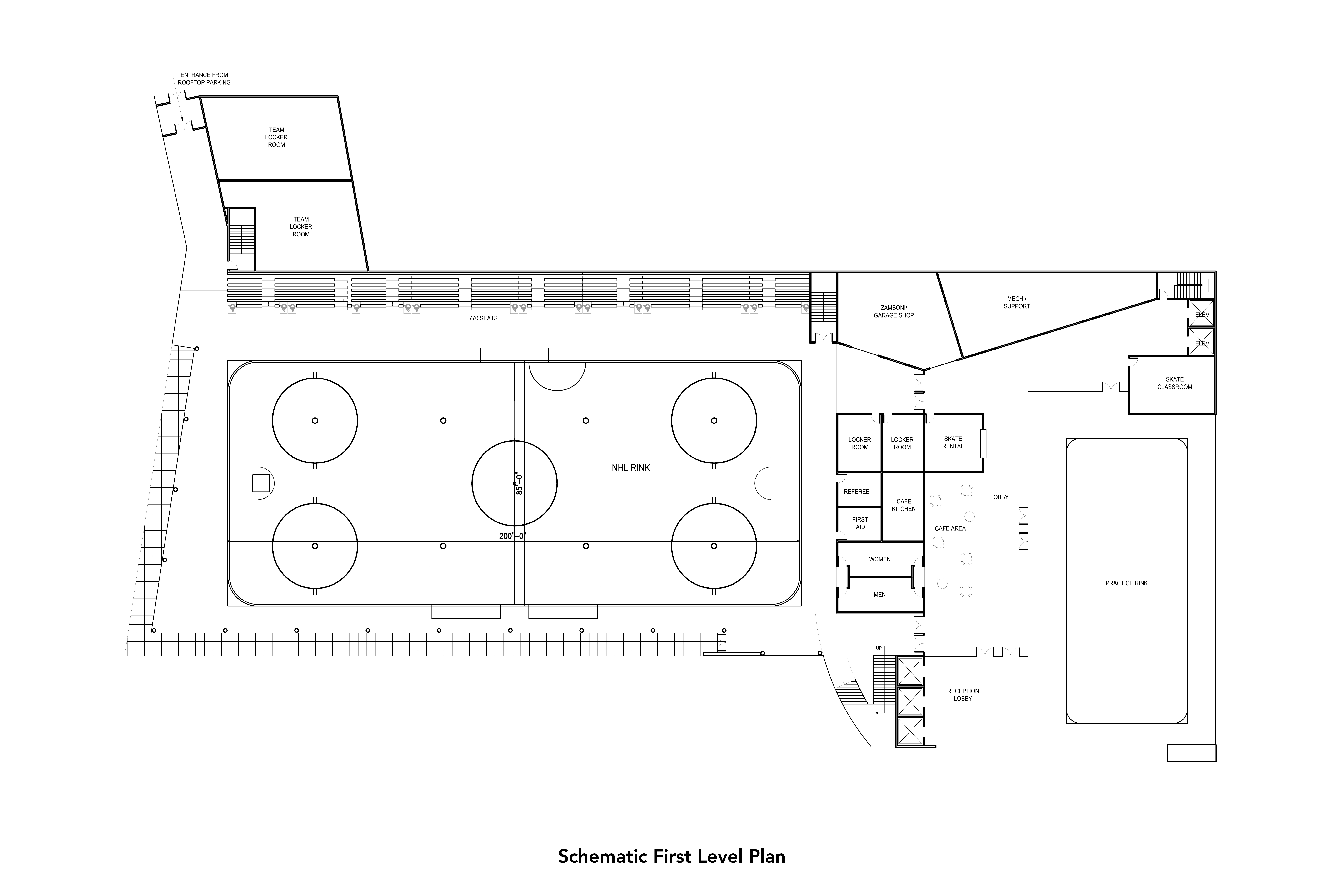 Battery Ice Arena – Proposed NY Ranger Practice Facility