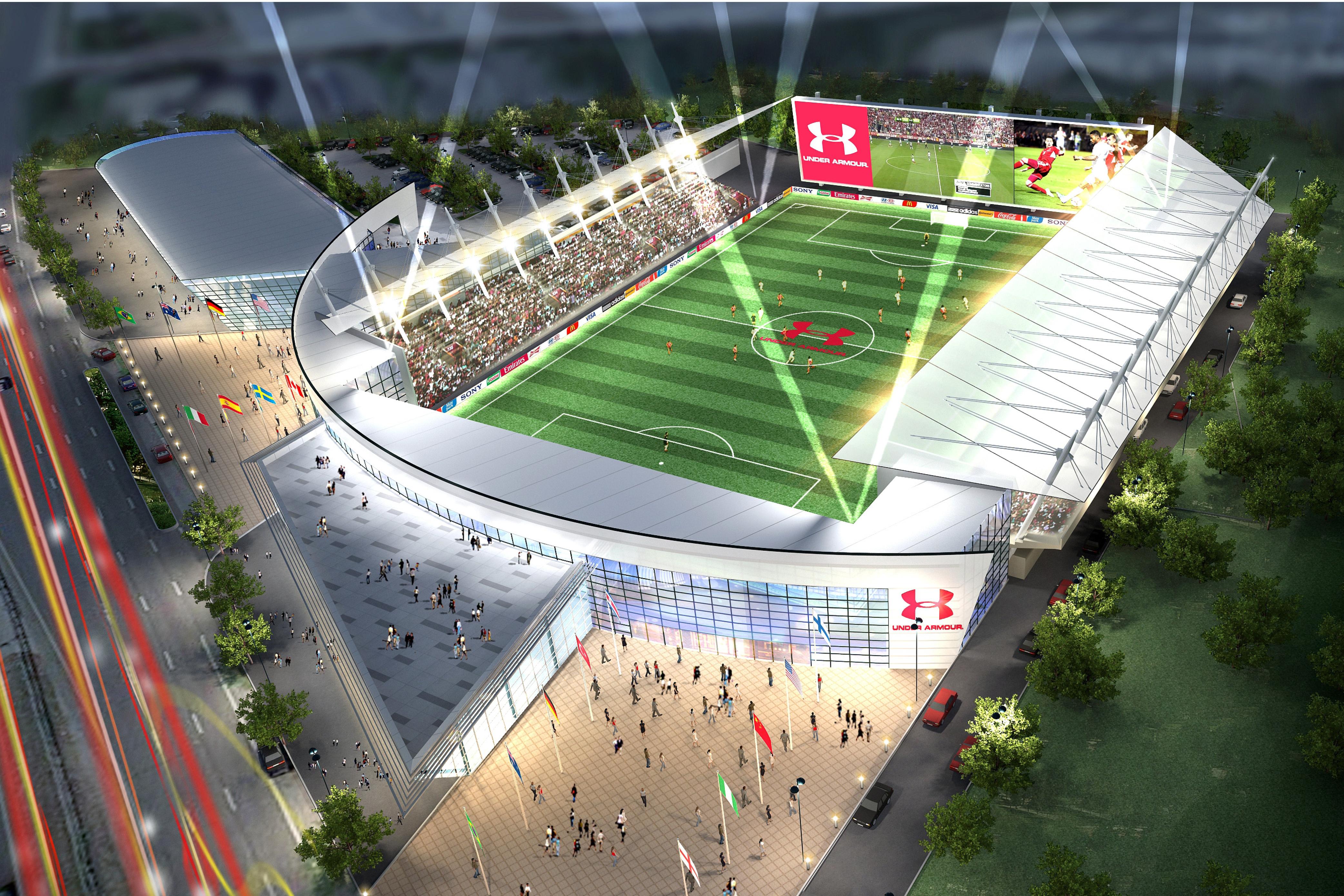 Under Armor Stadium and Long Island Soccer Academy Complex